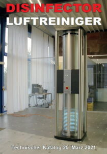 Disinfector Technischer Katalog-März